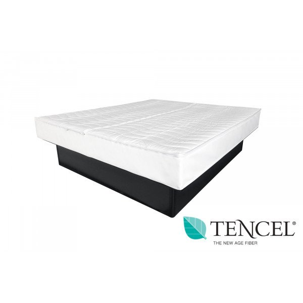 Wasserbett Bezug Tencel | Komplett